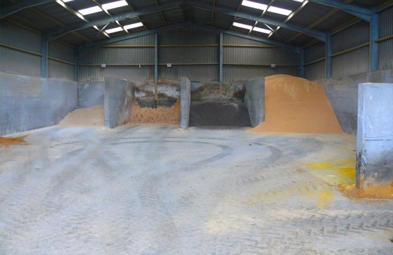 belfast Pre harvest cleaning grain shed spraying